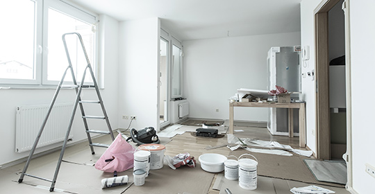 Rénovation local professionnel